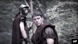 "Channing Tatum in scene from ""The Eagle"""