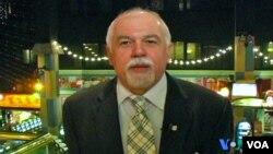O Πρόεδρος του Ελληνοαμερικανικού Εθνικού Συμβούλιου, Παύλος Κοτρότσιος