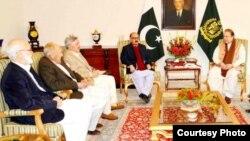 巴基斯坦政府和談委員會(資料圖片)