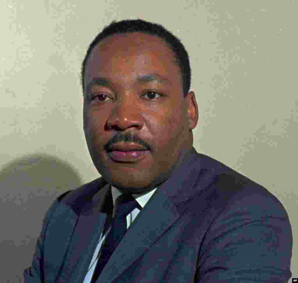 An undated file photo of Martin Luther King Jr.