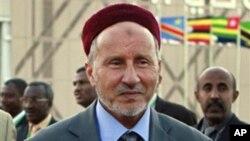 Libya's ex-justice minister Mustafa Abdel-Jalil, February 23, 2011