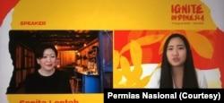 Sonia Lontoh, SVP Global Head at Marketing Hewlett Packard.(Foto: Courtesy/Permias Nasional)
