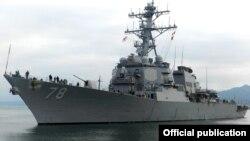 USS Porter ბათუმის ნავსადგურში
