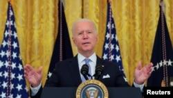 У своїй промові у Білому домі 29 липня президент США Джо Байден висловив занепокоєння через недостатній рівень вакцинацій у США