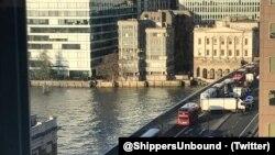 Лондонский мост, 29 ноября / Twitter: @ShippersUnbound