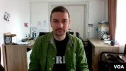 Urednik portala KRIK Stevan Dojčinović u razgovoru za Glas Amerike