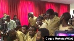 Julgamento de Activistas em Luanda começou a 16 de Novembro