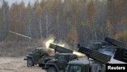 Vojne vežne u Ukrajini u blizini Kijeva