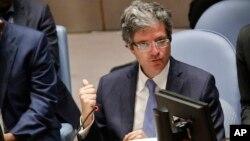 Врансуа Делаттр, постійний представник Франції в ООН