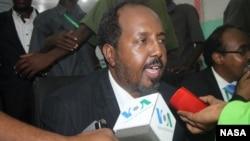 索馬里新總統馬哈茂德(資料照片)