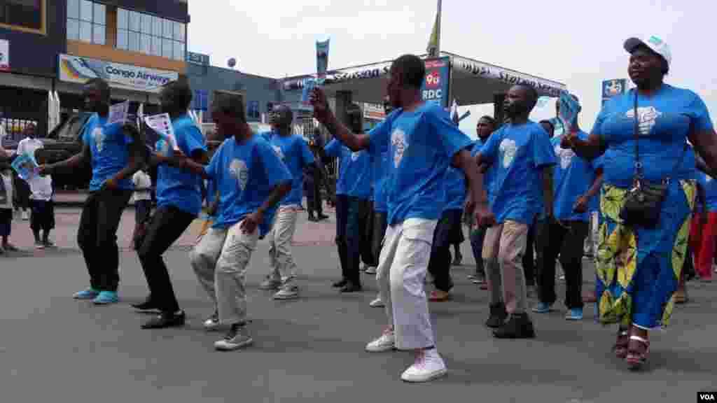 Une manifestation pacifique à Goma RDC, le 16 juin 2016.