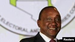 Dans un communiqué, la Maison Blanche a salué l'élection du président Uhuru Kenyatta