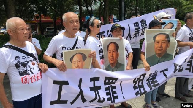 中国五位劳工活动人士遭当局拘捕