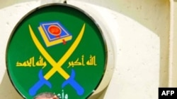 Եգիպտոսում «Մահմեդական եղբայրության» առաջնորդ Մոհամմեդ Բադիե (կենտրոնում) (արխիվային լուսանկար)