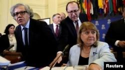 Đại biểu các nước OAS họp ở Washington, Mỹ, về khủng hoảng ở Venezuela, 31/5/2017