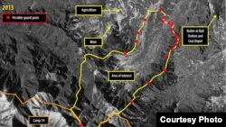 올해 초 인공위성으로 촬영한 북한 14호 개천관리소 (자료사진)