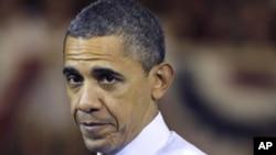 奧巴馬總統星期三在賓夕法尼亞州斯克蘭頓的一個高中發表講話