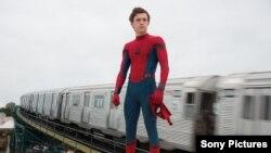 """Spider-Man: Homecoming"" dibintangi aktor Tom Holland (foto: ilustrasi)."
