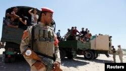 Pripadnik iračkih bezbednosnih snaga