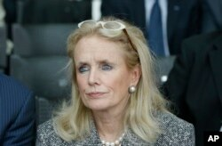 FILE - Congresswoman Debbie Dingell in Detroit, April 11, 2016. Dingell shared a personal story about the gun control issue during a sit-in held by House Democrats at the Capitol.