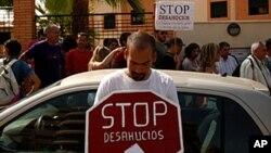 Les banques, nouvelle cible des protestations en Espagne