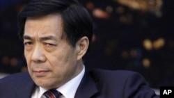 前中共中央政治局委员、中共前重庆市委书记薄熙来(资料照片)