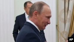 Le président russe Vladimir Poutine, à Moscou, 24 novembre 2016.