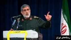 Ghaani, novo comandante da força Qods force commander