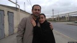 Əfqan Sadıqov və həyat yoldaşı Sevinc Sadıqova