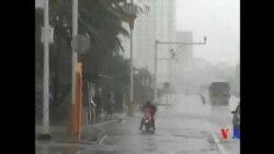 2015-10-04 美國之音視頻新聞: 颱風彩虹襲擊中國南部