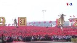 Çinin Kommunist partiyasının 70-ci ildönümündə Honq Konqda etirazlar keçirlib