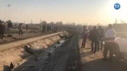 İran'da Ukrayna Havayollarına Ait Yolcu Uçağı Düştü