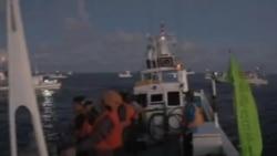 10 名日本活動人士登上有主權爭議的釣魚島