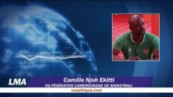 Camille Njoh Ekitti, secrétaire général de la fédération camerounaise de basketball, joint par Yacouba Ouedraogo