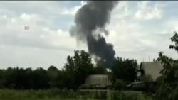 馬航客機在烏克蘭東部被擊落墜毀