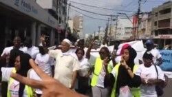 Matembezi ya mwito wa amani mjini Mombasa