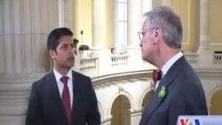 مصاحبه اختصاصی صدای امریکا با ایرل بلومیناور، عضو کانگرس امریکا