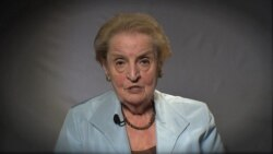 Madeleine Albright, former Secretary of State