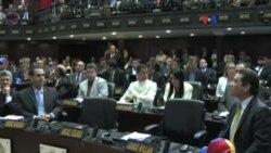 Venezuela: persiste conflicto de poderes