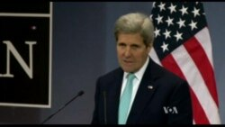 Kerry Comments During NATO Press Conference