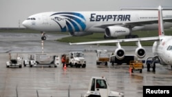 Un avion d'EgyptAir.
