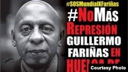 La campaña #SOSMundial por Farinas pedía enviar mensajes, videos o publicaciones el viernes 9 de septiembre al mediodía con las etiquetas #TodosSomosFarinas #YoApoyoTusDemandas #RaulRespondeYa.
