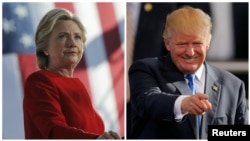 Hillary Clinton ta Democrat 'yar New York ce haka ma Donald Trump na Republican
