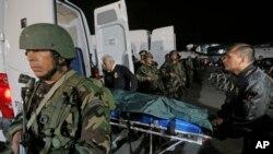 A pesar que se ha confirmado la identidad de los cadáveres el presidente Ollanta Humala dijo que los cuerpos serán sometidos a pruebas de ADN.