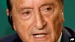 L'Uruguayen Eugenio Figueredo, ancien président de la Confédération sud-américaine de footbal.