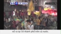 Biểu tình chống World Cup nổ ra tại 50 thành phố ở Brazil (VOA60)