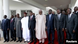 FILE - ECOWAS meeting in Abuja, Nigeria, Sept. 22, 2015.