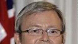 کِوين راد: استراليا مانع از انتقال سه محمولهِ دريايی به ايران شده است