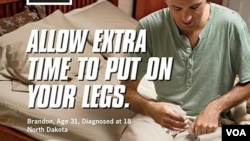Contoh iklan anti-rokok yang dilancarkan Departemen Kesehatan Amerika (foto: dok).