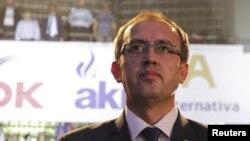 Premijer Kosova Avdulah Hoti (Foto: REUTERS/Agron Beqiri)